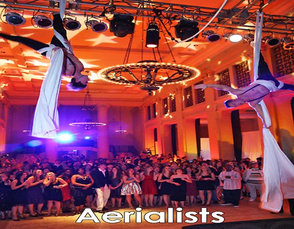 Aerialists 8 Image - Inspire Productions
