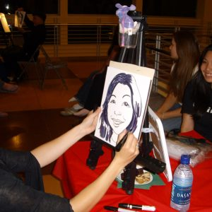 Caricaturist - Inspire Productions