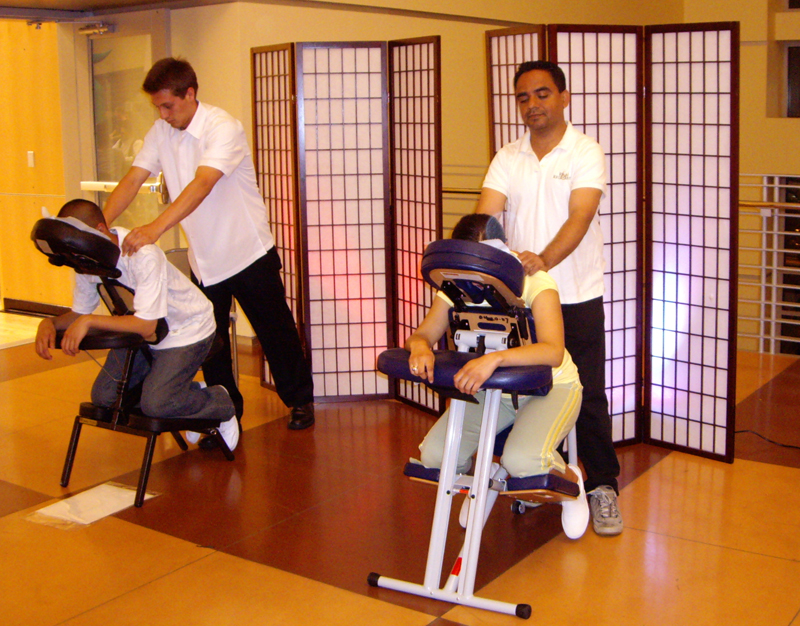 Chair Massage - Inspire Productions