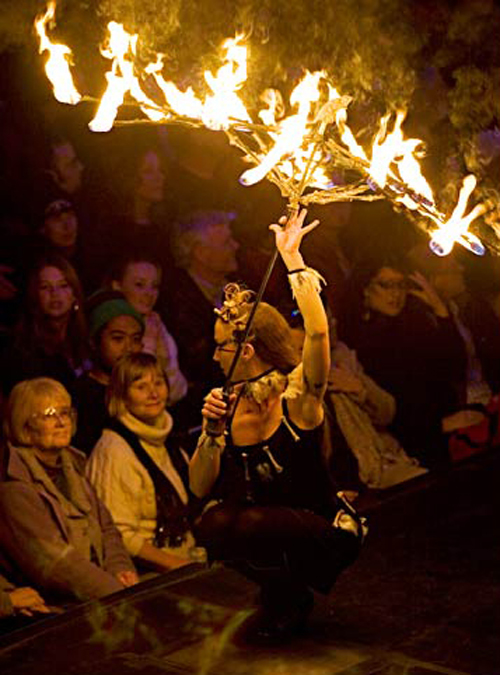 Fire Dancers Image 1 - Inspire Productions